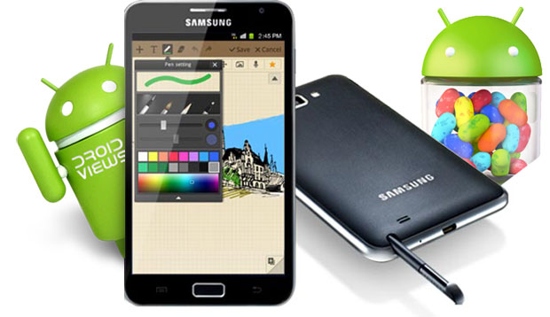 How to upgrade Galaxy Note N7000 to an Official Jelly Bean 4 1 2